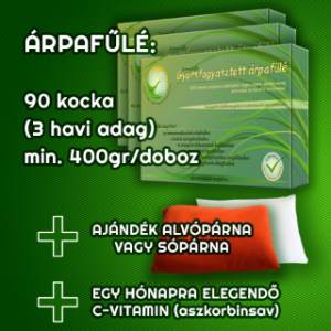 Árpafűlé: Csodás klorofill csomag