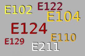 E- számok