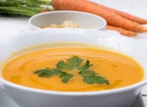 Narancs-répa leves