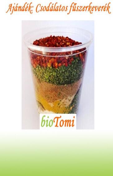bioTomi ajándék csodálatos fűszerkeverék