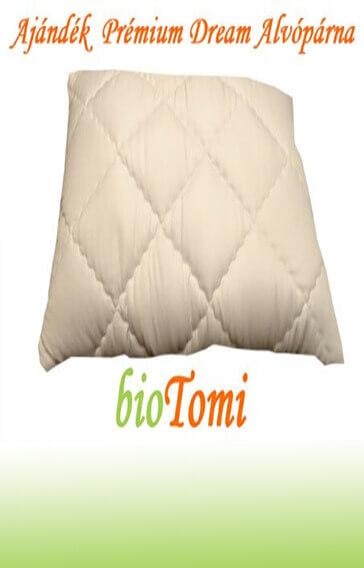bioTomi ajándék prémium dream alvópárna