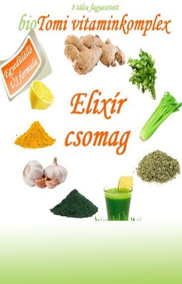 bioTomi vitaminkomplex elixír csomag