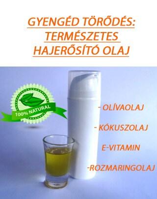 Gyengéd törődés hajápoló olaj