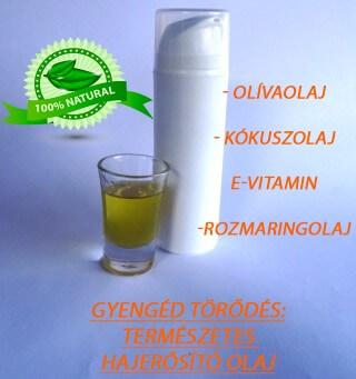 gyengéd törődés hajerősítő olaj