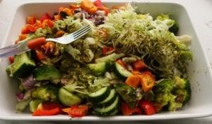 újra egészséges leszek saláta