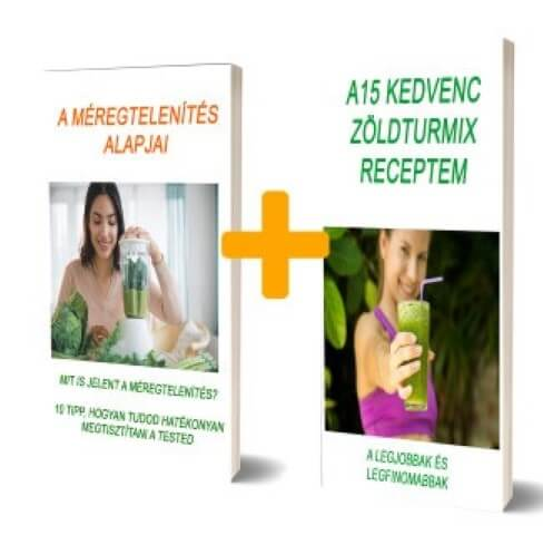 méregtenítő és turmix recept e-book