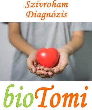 Szívroham diagnózis