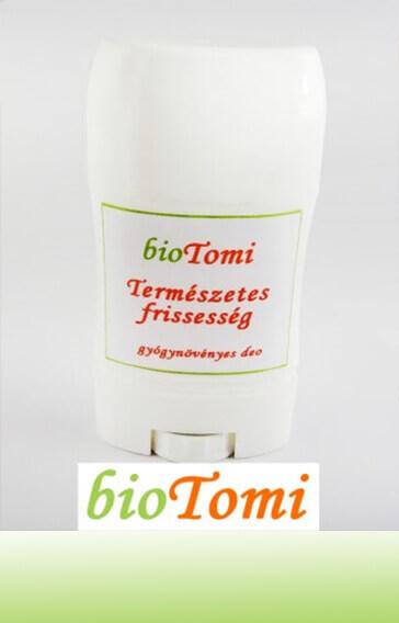 bioTomi Természetes frissesség krémdeo gyógynövényes