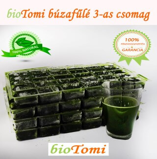 bioTomi búzafűlé 3-as csomag