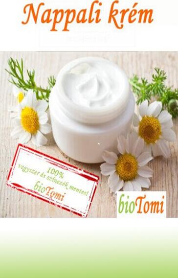 bioTomi természetes szépség gyógynövényes arckrém