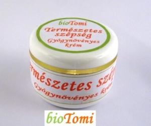 Természetes szépség gyógynövényes nappali arckrém