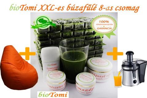 bioTomi XXL-es búzafűlé 8-as csomag