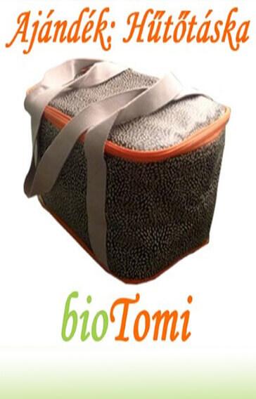 bioTomi ajándék hűtőtáska