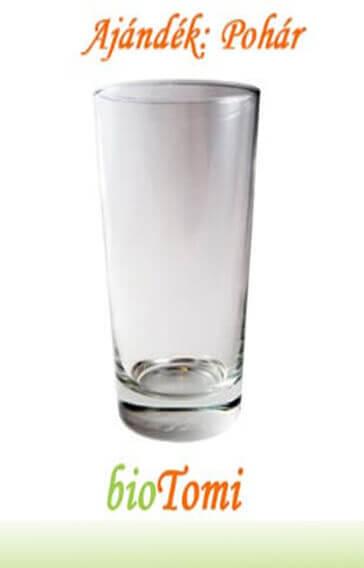 bioTomi ajándék pohár