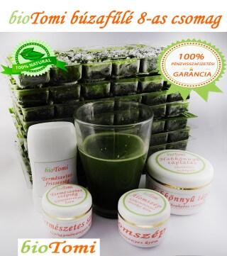 bioTomi búzafűlé 8-as csomag