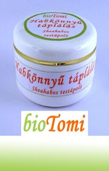 bioTomi gyógynövényes krémcsalád sheahab testápoló