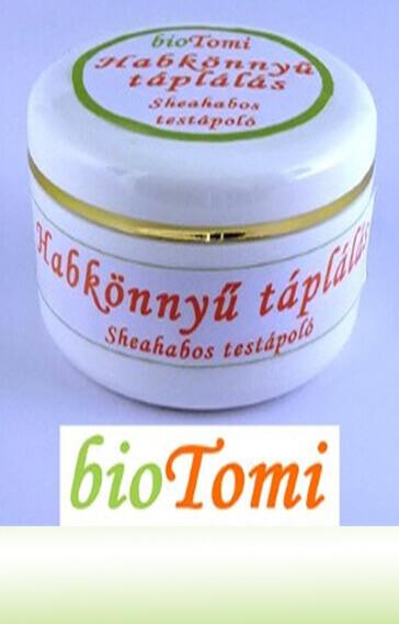 bioTomi habkönnyű tápláló sheahab