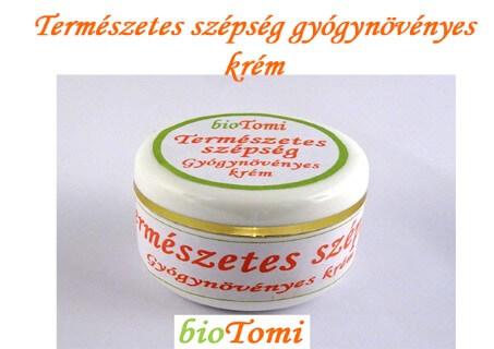 bioTomi natúr gyógynövényes krémcsalád Természetes szépség gyógynövényes krém
