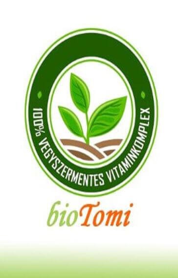 bioTomi vegyszermentes termékek